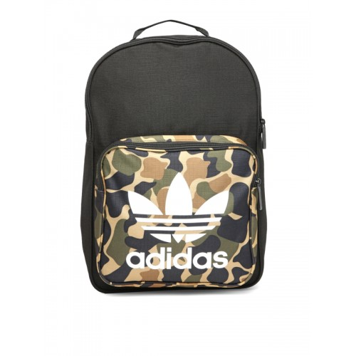 ... Adidas Originals Unisex Black Classic BP CAMO Camouflage Print Backpack  ... 1012aa59fc971
