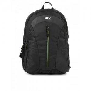 HRX by Hrithik Roshan Unisex Black Velocity Backpack