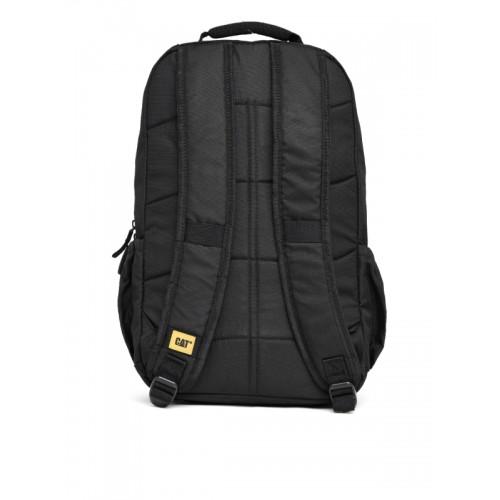 CAT Unisex Black Solid Backpack