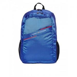 Tommy Hilfiger Unisex Blue Laptop Backpack