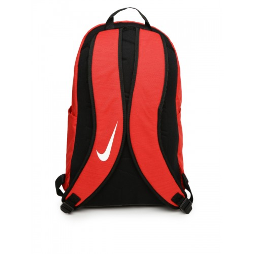 Buy Nike Unisex Red Solid BRSLA XL Backpack online  c71a8e9003631