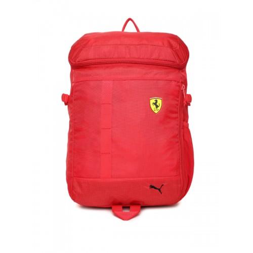 cbded1399024 Buy Puma Unisex Red Scuderia Ferrari Fanwear Backpack online ...
