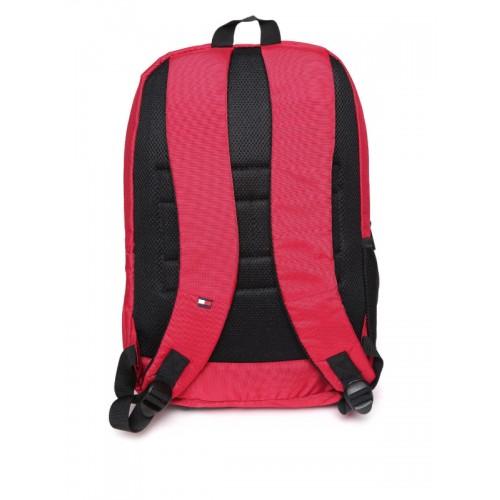 f95030d65f7 Buy Tommy Hilfiger Unisex Red Printed Laptop Backpack online ...