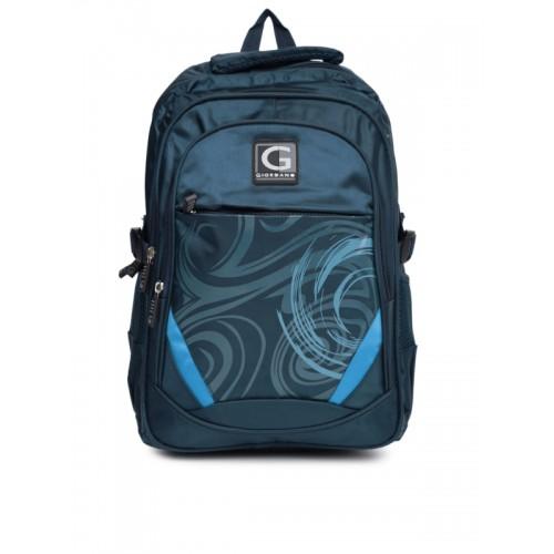 4ae66d4839b8 GIORDANO Unisex Navy Printed Backpack  GIORDANO Unisex Navy Printed Backpack  ...