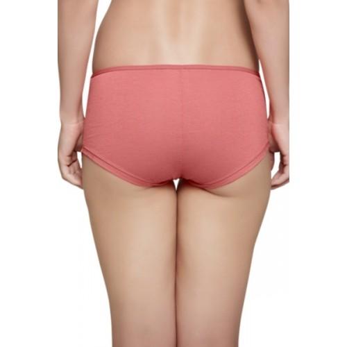 Inner Sense Women's Solid Orange Panty