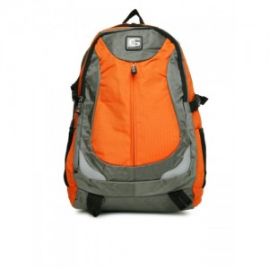 558b5627b7 Buy Puma Puma Unisex Echo Plus Grey   Orange 27 L Backpack online ...