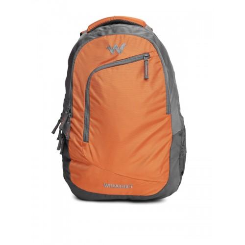 Wildcraft Maestro_2 40 L Laptop Backpack(Grey, Orange)