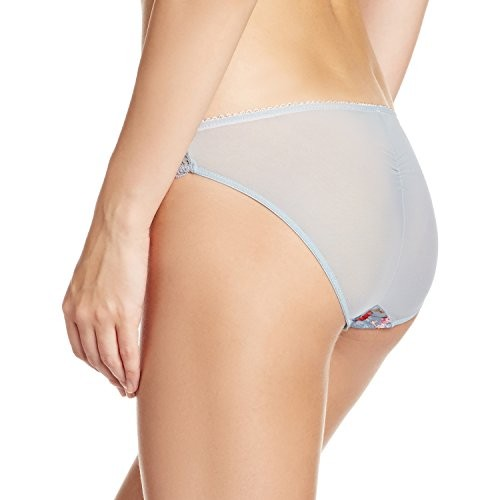 Bwitch Gray Cotton Spandex Printed Brief
