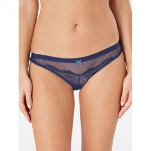 next Navy Blue Lace Bikini Briefs DB01ST167331