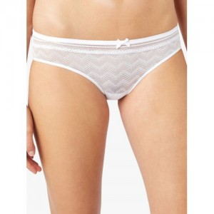 next Women White Lace Briefs DB01ST143633