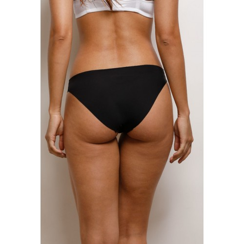 dcbf2def97 Buy Zivame Zivame No Panty Line Laser Cut Bikini Brief- Black online ...