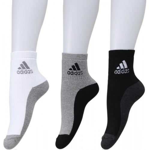 ADIDAS Men Ankle Length Socks (Pack of 3)