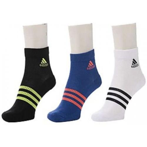 ADIDAS Men's  Ankle Length Socks (Pack of 3)