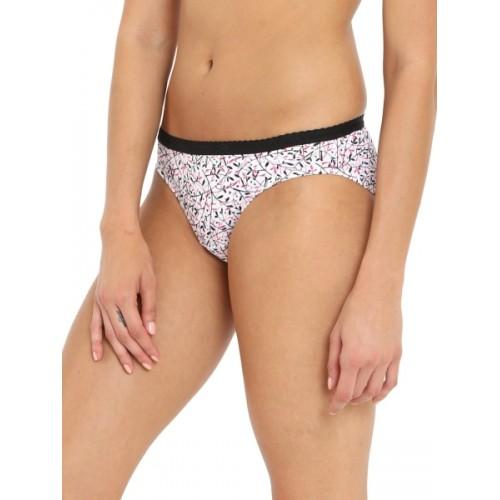 Jockey Women's Bikini Black, White, Multicolor Panty