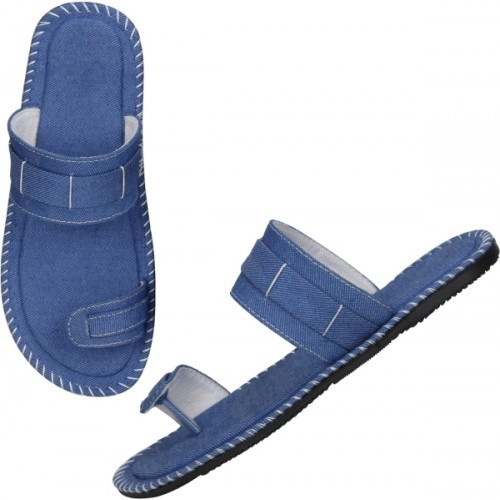 Kraasa Blue Men Sandals