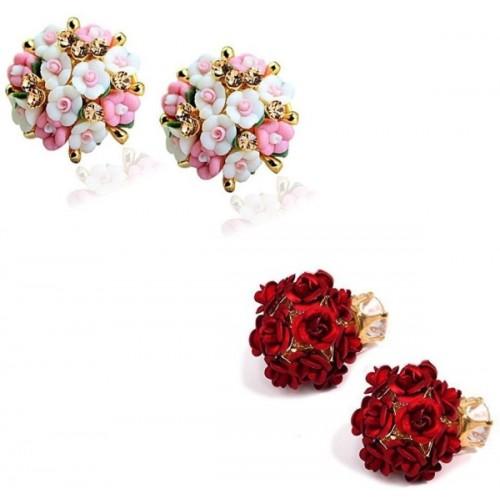 Jewels Galaxy Luxuria Zircon Alloy Stud Earring
