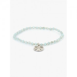 Accessorize Light Blue Single Stretch Bracelet