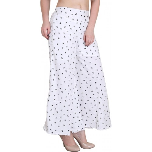 Kannan Regular Fit Women's White Trousers