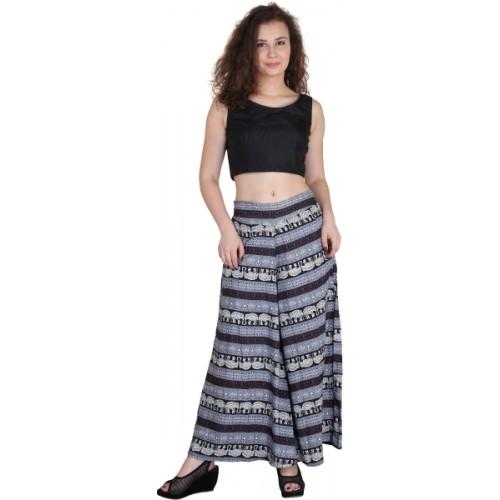 Kannan Regular Fit Women's Grey Trousers
