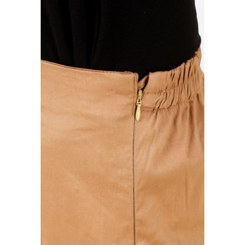Q-Rious Regular Fit Women Black, Brown Trousers