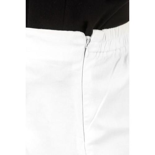 Q-Rious Regular Fit Women's Dark Blue, White Trousers