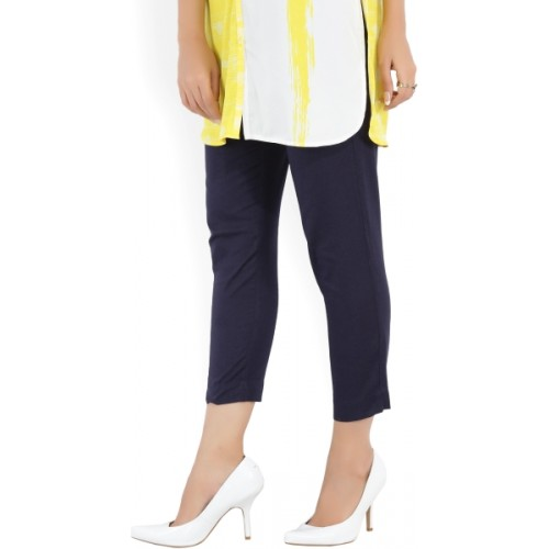 Aurelia Regular Fit Women Blue Trousers