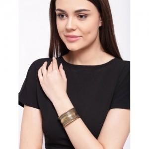 PRITA Gold-Toned Cuff Bracelet