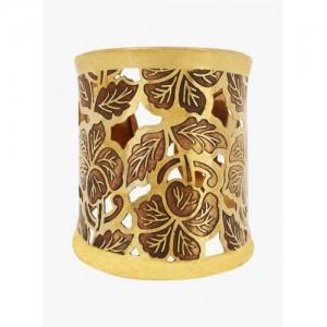 Prita Golden Alloy Bracelet