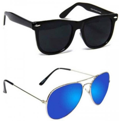 Aoking Wayfarer, Aviator Sunglasses
