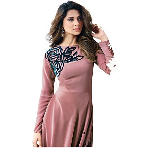 INFOECH Traditional Goun For Women New Arrival Fancy Anarkali Goun / today new collection / new low price gown / PETCH Worked Wedding Wear, PARTY WEAR Floor