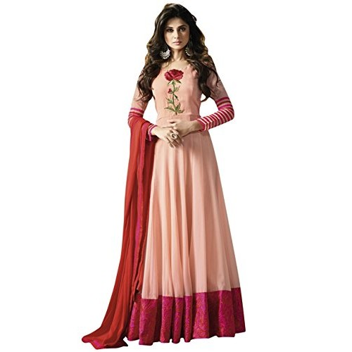 Buy Misha Fashion latest Pink Anarkali Party wear Gown online ...