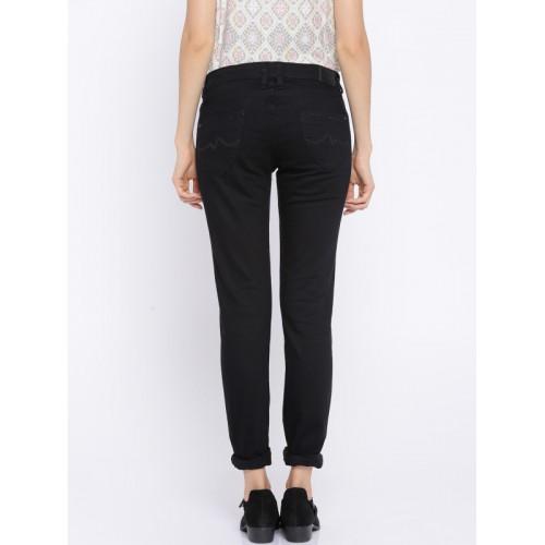 Pepe Jeans Black Frisky Slim Fit Jeans