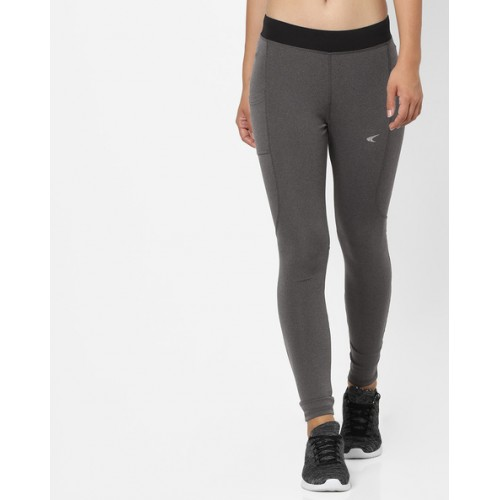 d1a3a972ce0a8 Buy PERFORMAX Grey Slim Fit Training Leggings online | Looksgud.in
