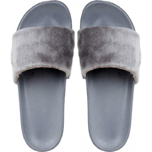 Do Bhai Women Grey Flats