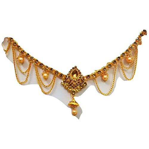 WomenSky Traditional gold bellychain