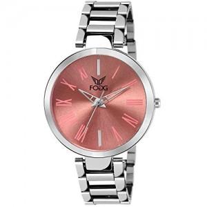 Fogg Analog Pink Dial Women's Watch