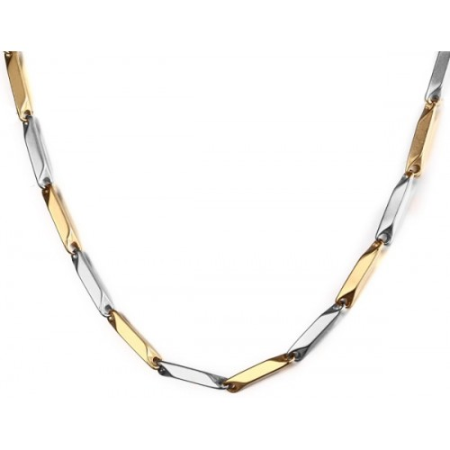 Nakabh Stunning Italian Solid Titanium Plated Stainless Steel Chain