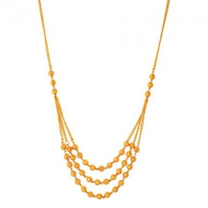Handicraft Kottage Gold Plated Chain for Women (Golden) (AGCH-006)