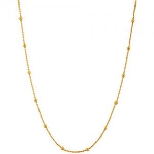 Handicraft Kottage Gold Plated Chain for Women (Golden) (hk-acm-5013)