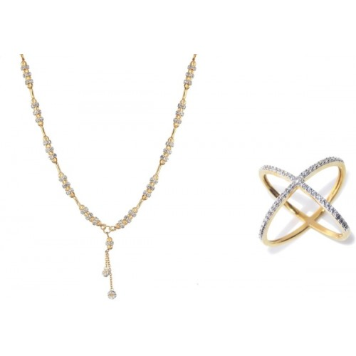 44f2e06e7 Buy Zeneme Alloy Silver Jewel Set Combo online
