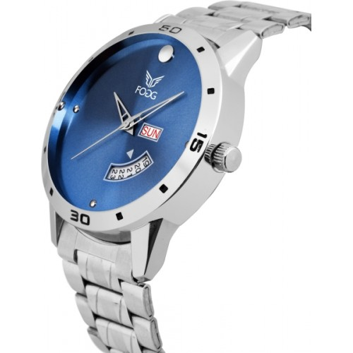 Fogg 2049-BL Blue Day and Date Watch