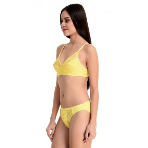 Yellow Lingerie Set 68