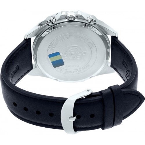 Casio Black Round Analog Watch - EFR-556L-1AVUDF (EX363)