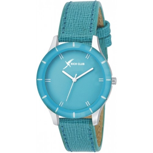 Rich Club Multi~Colour Leather Strap Combo Of 3 Watches