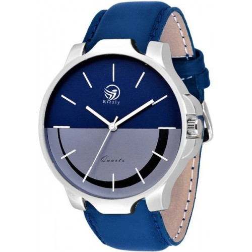 Rizzly Blue New Stylish Attractive Watch  - For Men & Women