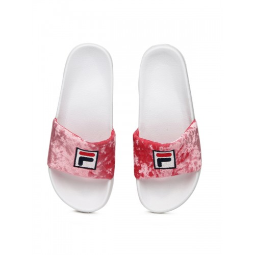 a06c6a13300 Buy Fila Palm Beach V Pink Slippers online | Looksgud.in