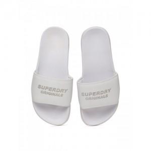Superdry Originals Pool Slide White Flip Flops