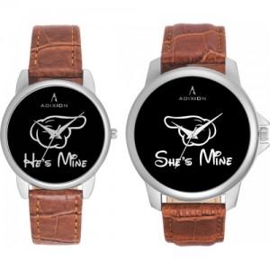 ADIXION 95SL01 New Combo Symbol of Love Couple  Watches