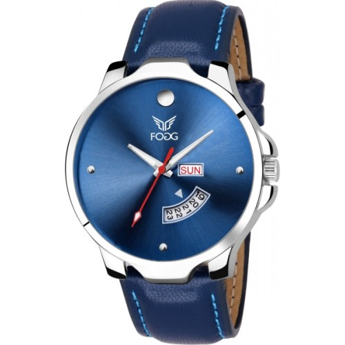 Fogg 1140-BL Blue Day and Date Watch  - For Men