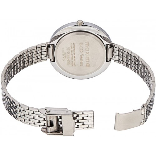 Maxima  Silver Casual Analog Watch